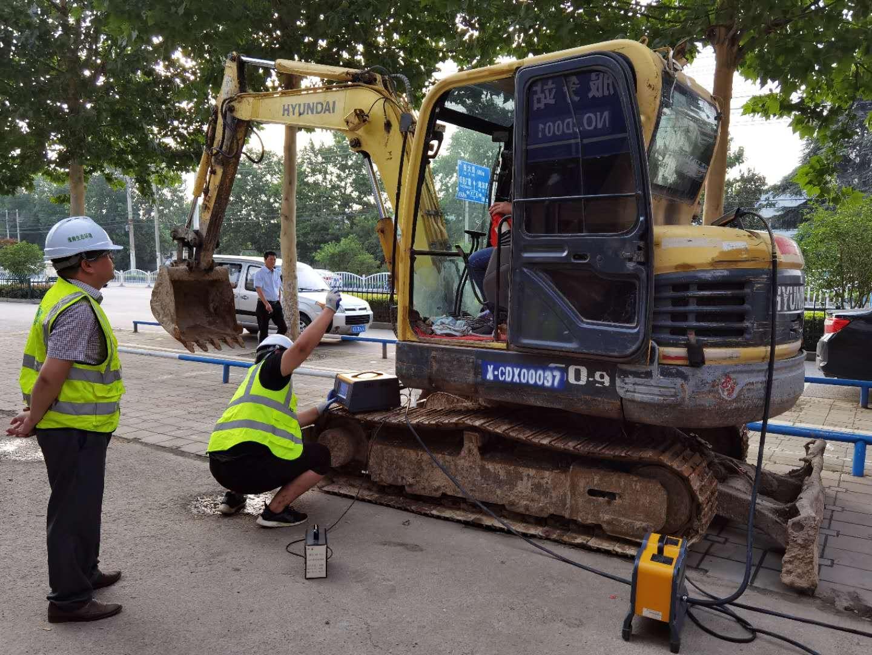 挖掘机械检测